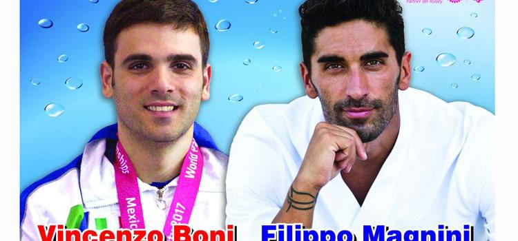 """""""Il nuoto si fa in 3"""", tutto pronto per l'evento con Magnini e Boni"""