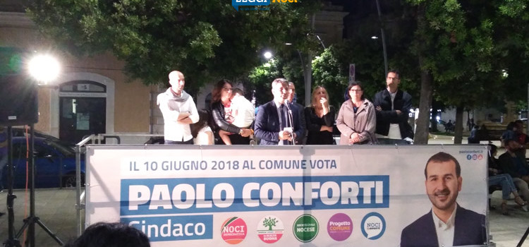 Al comizio de La Scelta Buona: turismo, legalità e il portone di Sant'Anna