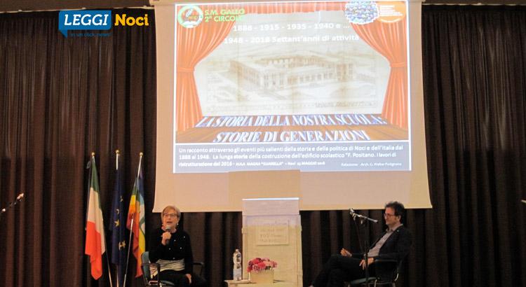 Giulia Basile e l'arch. Walter Putignano