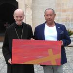 L'abate Giustino Pege e Carlo Vicenti