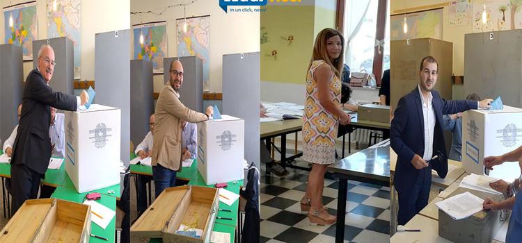Amministrative 2018: i candidati sindaci al voto
