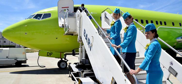 Volo Bari-Mosca: inaugurata la tratta che collega la Puglia alla Russia