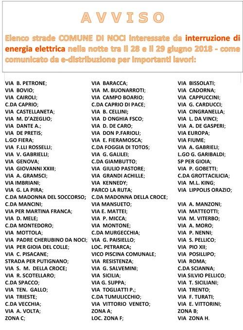 comune-di-noci-elenco-strade-elettrica-avviso