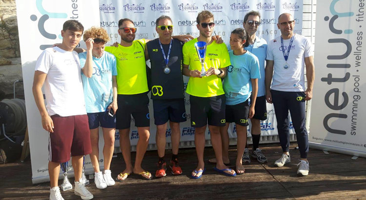 Nuoto in acque libere: tre campioni regionali Otré