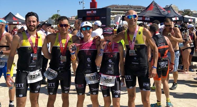Triathlon: i nerofluo di Otrè TT laureati IronMan a Pescara