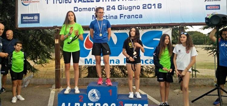 Triathlon giovanile: Intini sul podio