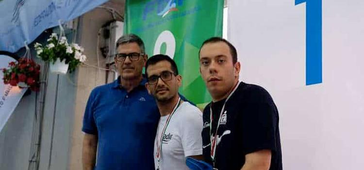 Recchia: tre argenti ai Campionati Italiani di Nuoto Paralimpico