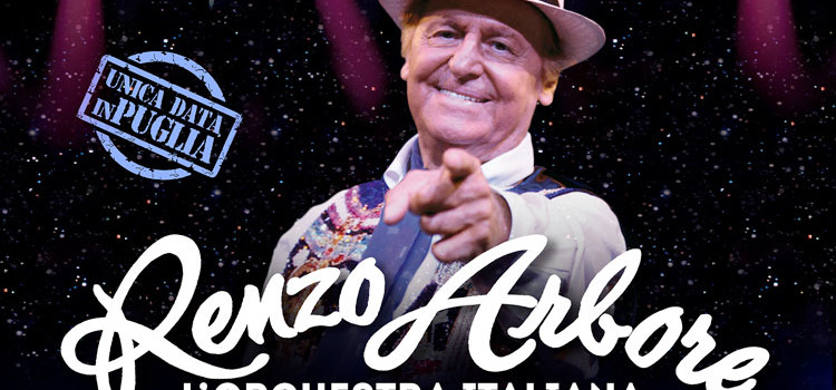 """Torna """"Un palco in collina"""": il 25 agosto Renzo Arbore a Noci"""