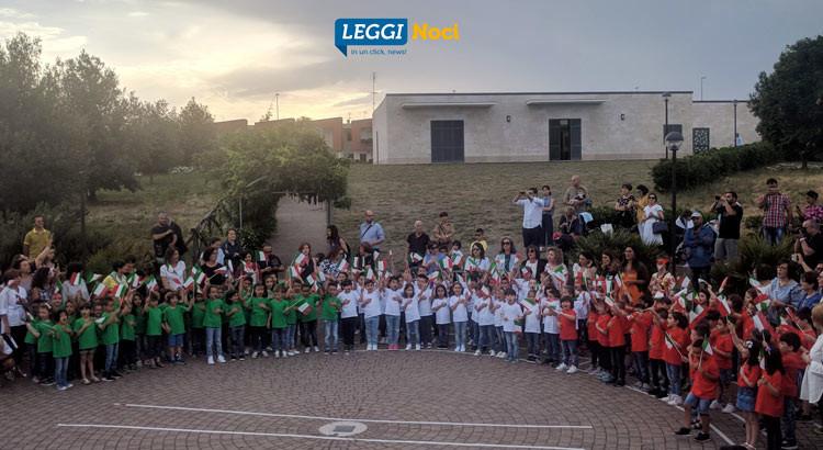 """""""Noi piccoli cittadini"""": il saluto alla scuola dell'infanzia degli alunni dell'I.C. Pascoli-Cappuccini"""