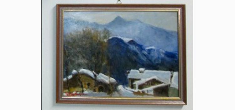 A Oulx i quadri di Bevilacqua