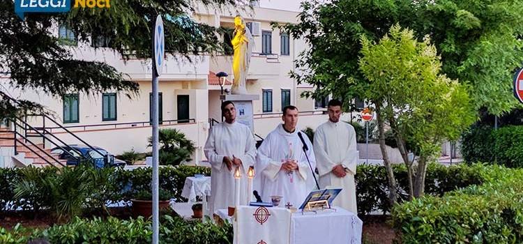 Celebrata una Santa Messa in onore della Madonna delle Grazie