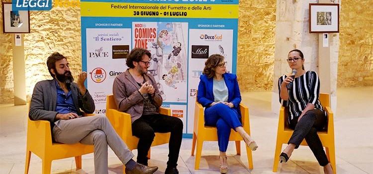 """Inaugurato il NCZ 2018 con la mostra """"La notte dei Valentino: 100 matite omaggiano il mito"""""""