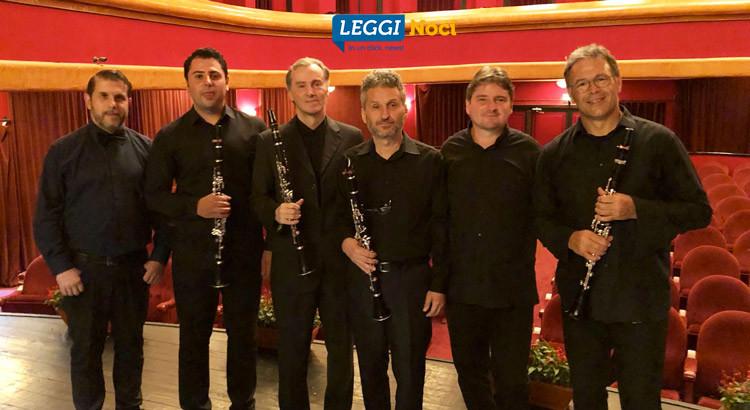 Il M° Antonio Tinelli porta in Europa il clarinetto (e riceve encomi)