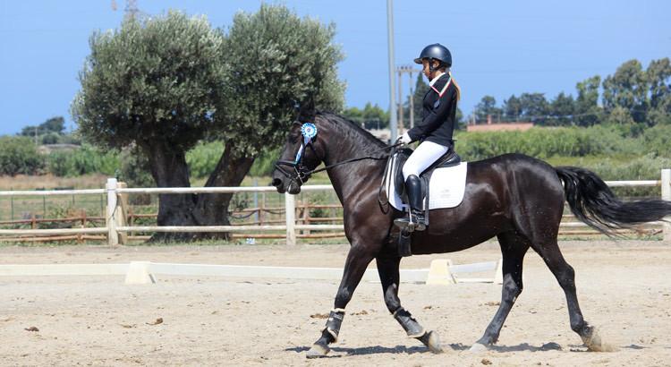 Dressage: Circolo Ippico Monaci argento a Brindisi