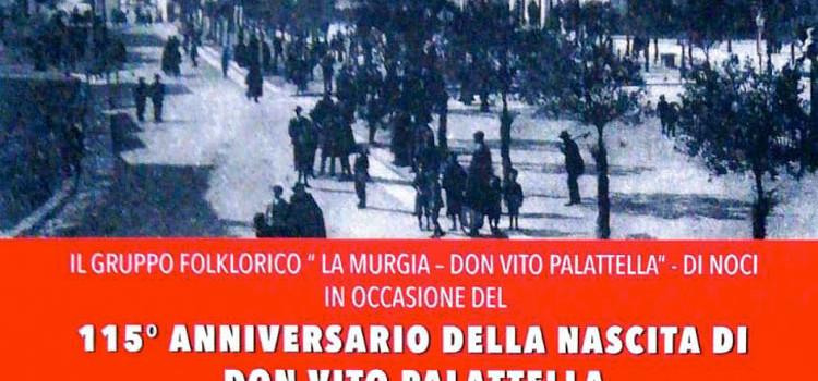 """Il gruppo folk """"La Murgia"""" omaggia don Vito Palattella"""