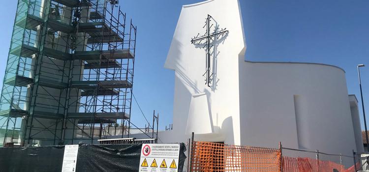 Lamadacqua: in fase di completamento i lavori di restauro alla chiesa dell'Assunta