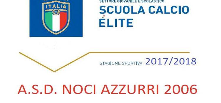 Noci Azzurri 2006 scuola calcio èlite, prossima stagione ritorna il calcio a 11