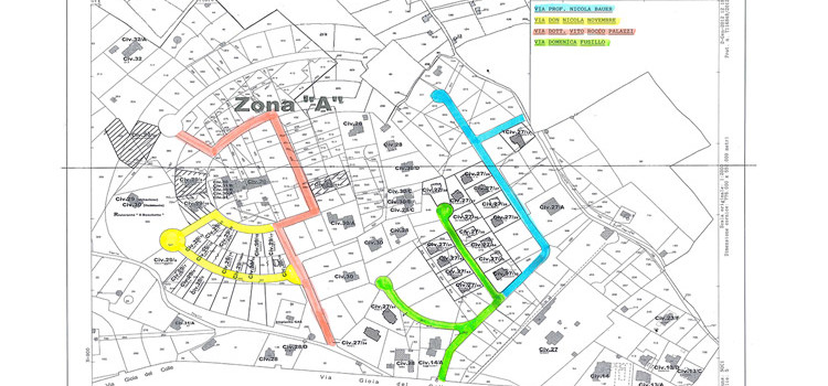 Intitolazione di strade a cinque illustri nocesi
