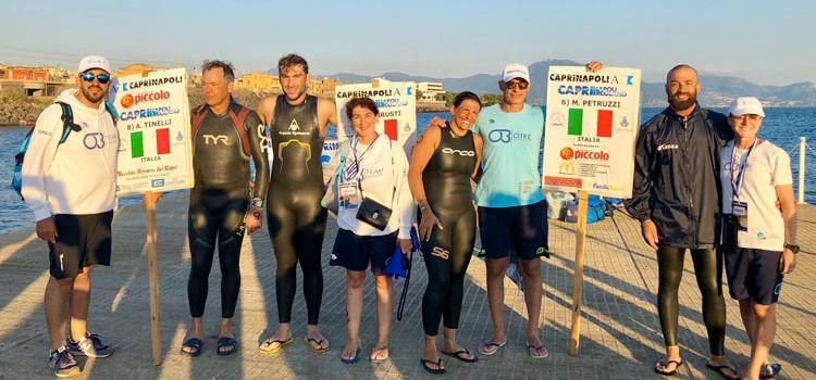 Otré Team Acque Libere da Capri ad Ercolano