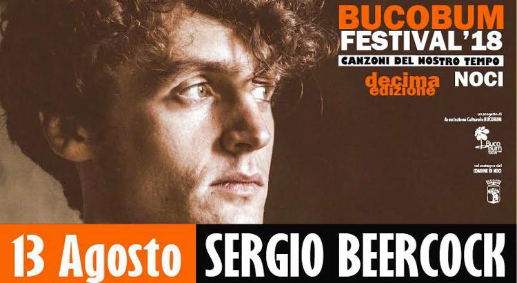 Dieci anni di Bucobum Festival: Sergio Beercock in concerto