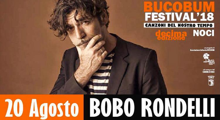 BucoBum Festival, arriva Bobo Rondelli