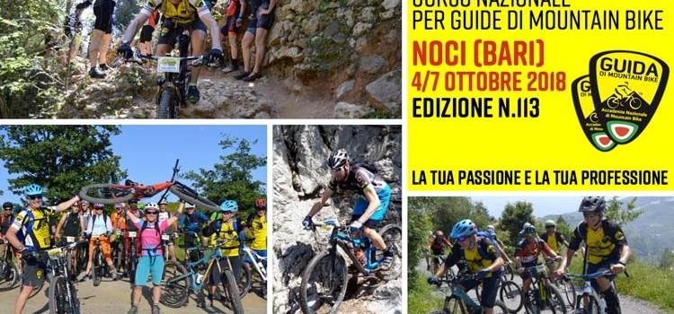 Corso Nazionale Guide di Mountain Bike a Noci
