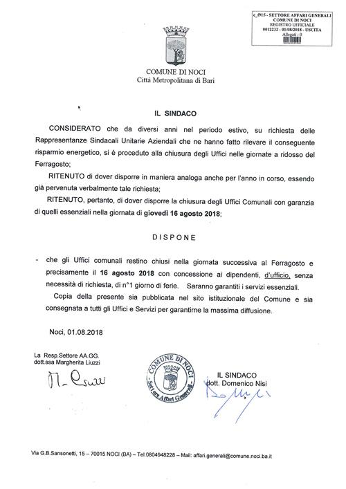 noci-Chiusura-Uffici-comunali-Ferragosto