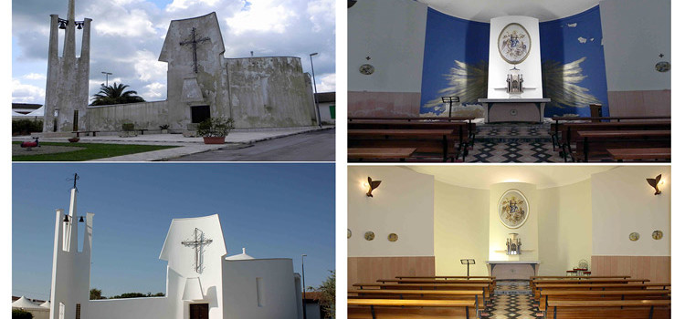 Conclusi i lavori di restauro della chiesa di Lamadacqua, i ringraziamenti di don Stefano Mazzarisi