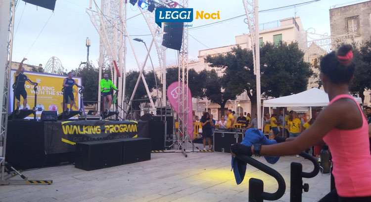 3° Walking with the Stars, salute e benessere in piazza
