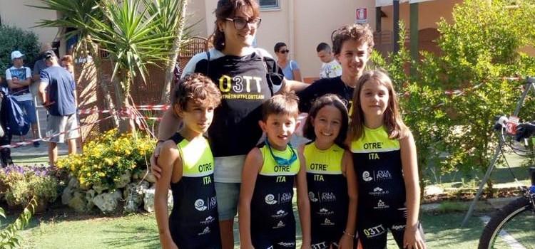 O3TT: podio per i piccoli allievi a Lecce, Frizzale all'Aronaman