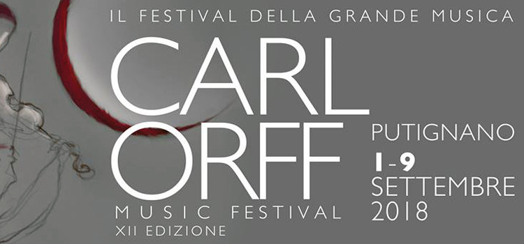 Musica da camera: torna il Carl Orff Music Festival