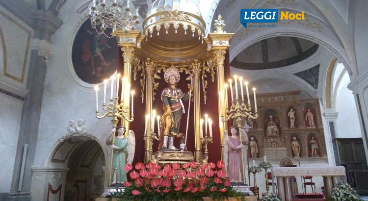 Restauro della Statua di San Rocco