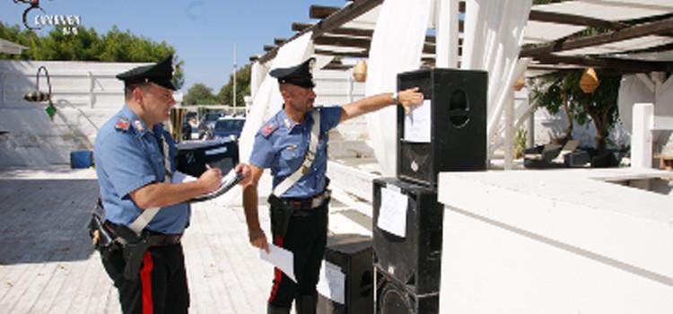 Musica troppo alta, Carabinieri appongono i sigilli a due locali della movida