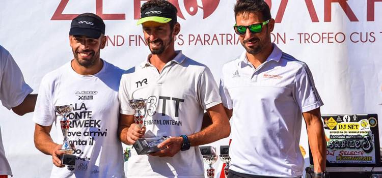 Ironman di Cervia e Bari Zerobarriere: podio per gli atleti di O3TT