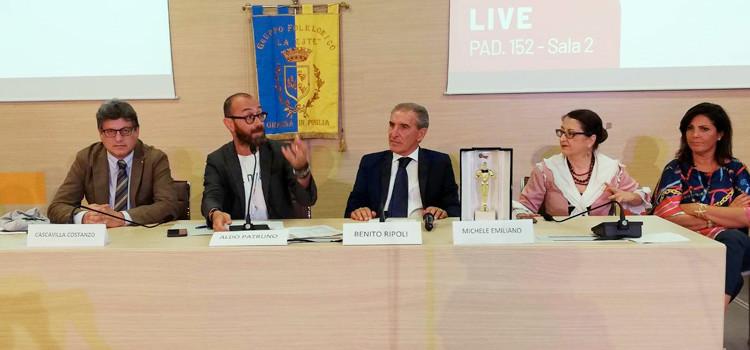 Firmato protocollo Regione-FITP per la diffusione del patrimonio culturale e folkloristico