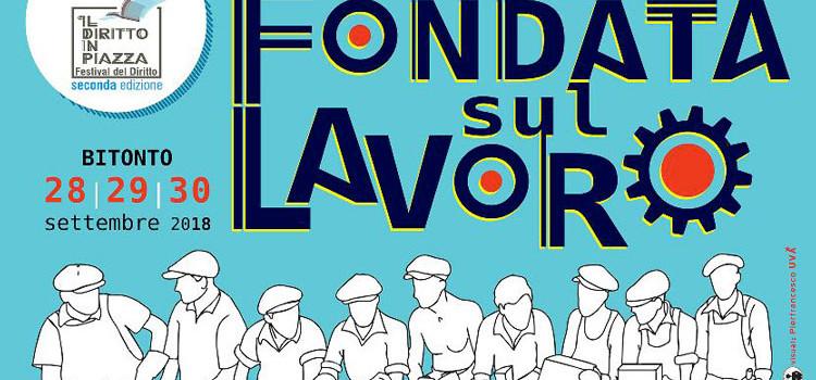 """""""Il Diritto in piazza"""": chiusura con Landini e Emiliano"""