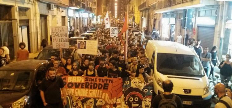 """Manifestazione """"Mai con Salvini"""" – comunicato stampa del Prc"""