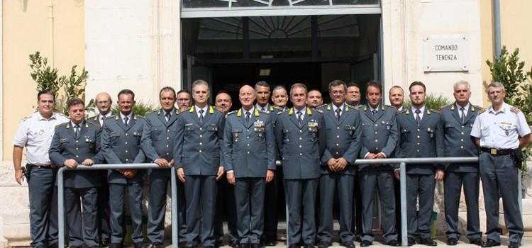 GdF: il Comandante Regionale Gen Vito Augelli in visita alla Tenenza di Putignano