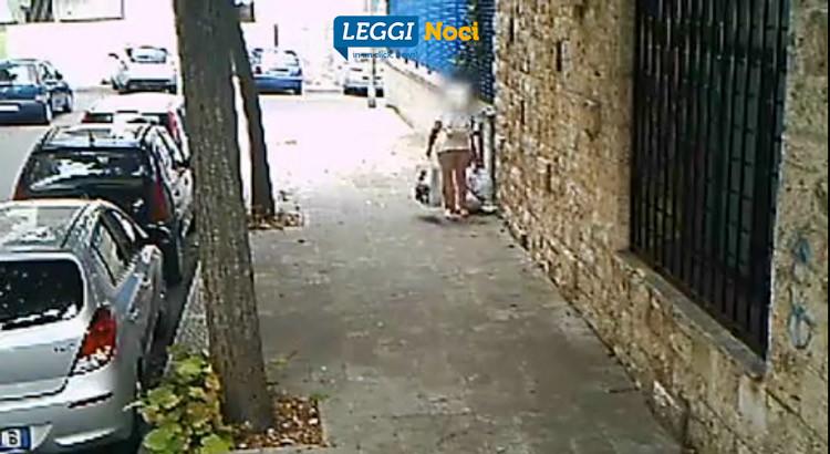 Rifiuti: il sindaco pubblica il video di una incivile