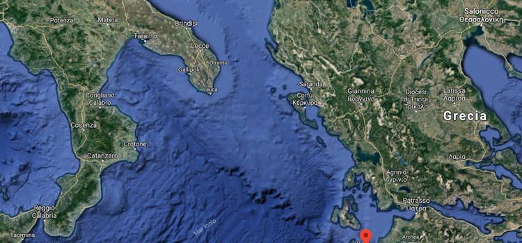 Terremoto a Zante, la scossa avvertita anche a Noci