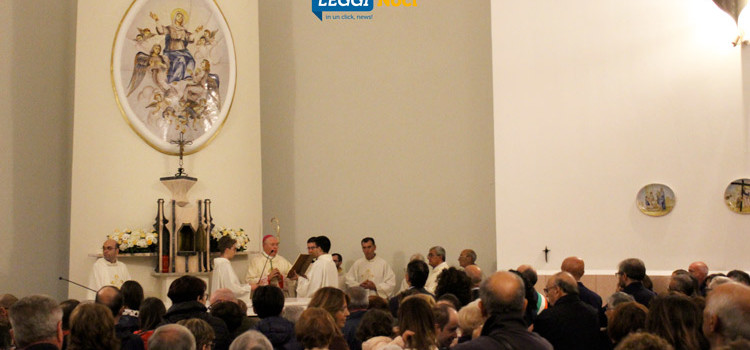 """Riaperta la chiesa di Lamadacqua, Mons Favale: """"da chiesa di pietra a chiesa di vita"""""""