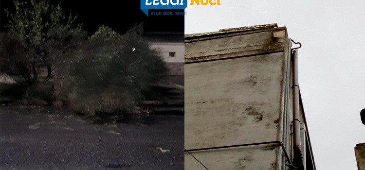Sferzata di vento eccezionale, danni anche a Noci