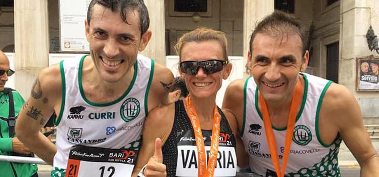 Montedoro: atleti in gara a Bari e Venezia