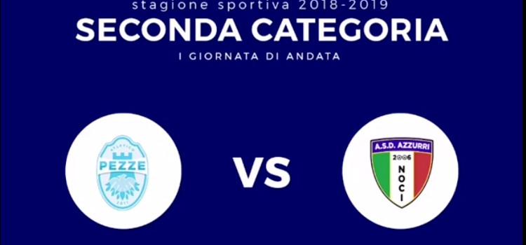 Calcio: inizia il campionato di 2^ Categoria, gli Azzurri in trasferta a Fasano