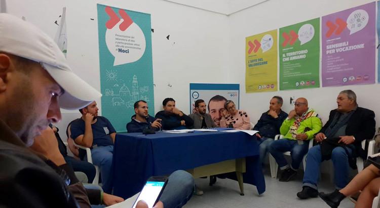 Noci Officina Civica si organizza: rinnovamento e partecipazione alla base del movimento