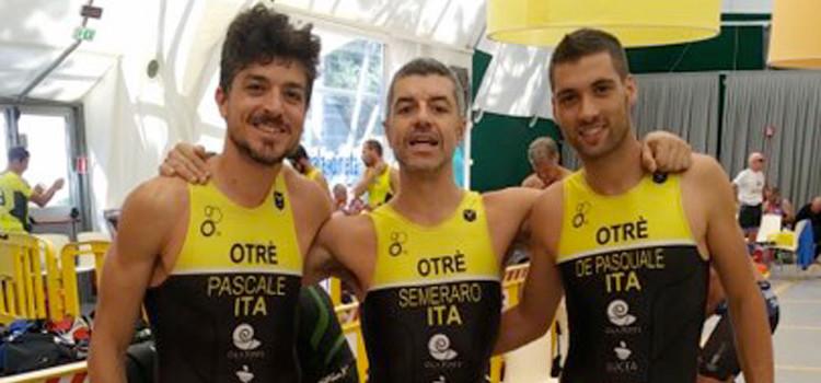 Triathlon: importante esperienza per Semeraro, Pascale e De Pasquale ai Campionati Italiani