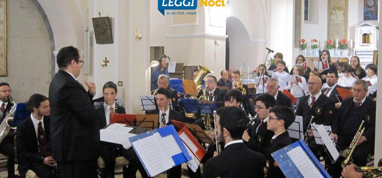 Santa Cecilia: la banda cittadina omaggia la protettrice dei musicanti