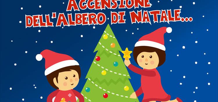Festa di inizio Avvento con accensione dell'Albero di Natale