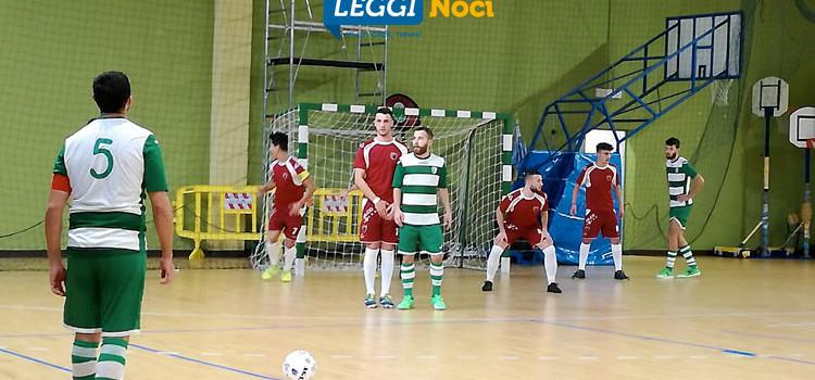 Noci Calcio A Cinque batte Thuriae 3–0, decidono Pace e Giannandrea