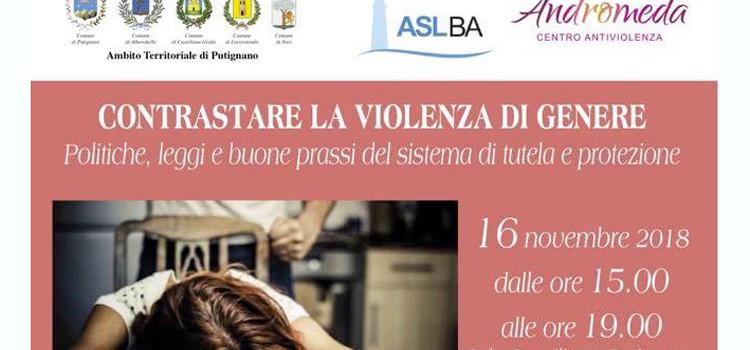 Contrastare la violenza di genere, Fabio Roia a Putignano